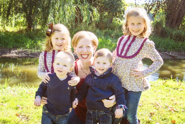 Four of my beautiful nieces and nephews. The fifth is slated to make his debut in March.