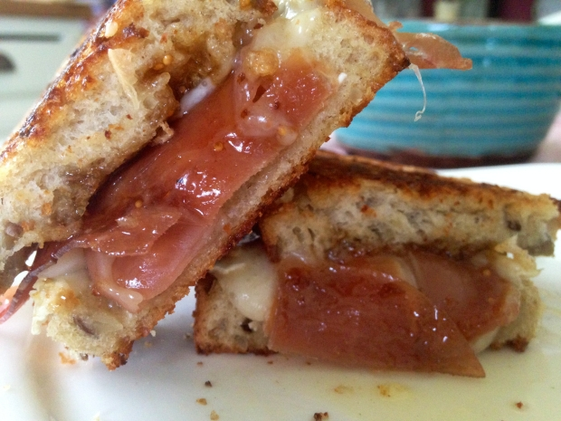 Grilled Cheese Party Brie