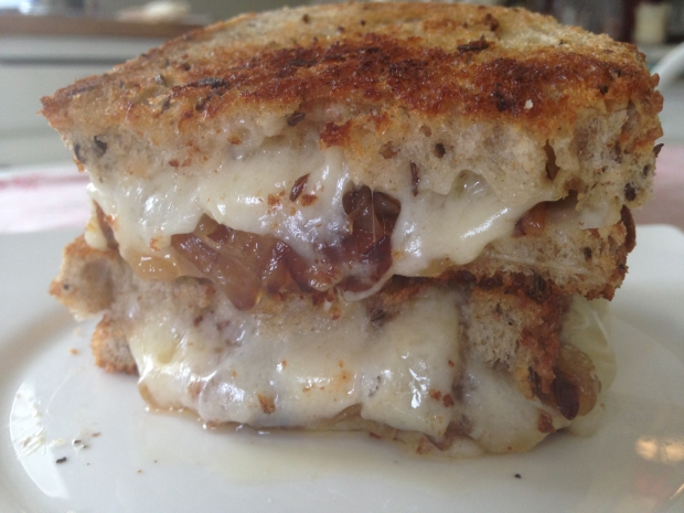 Grilled Cheese Party Gruyere