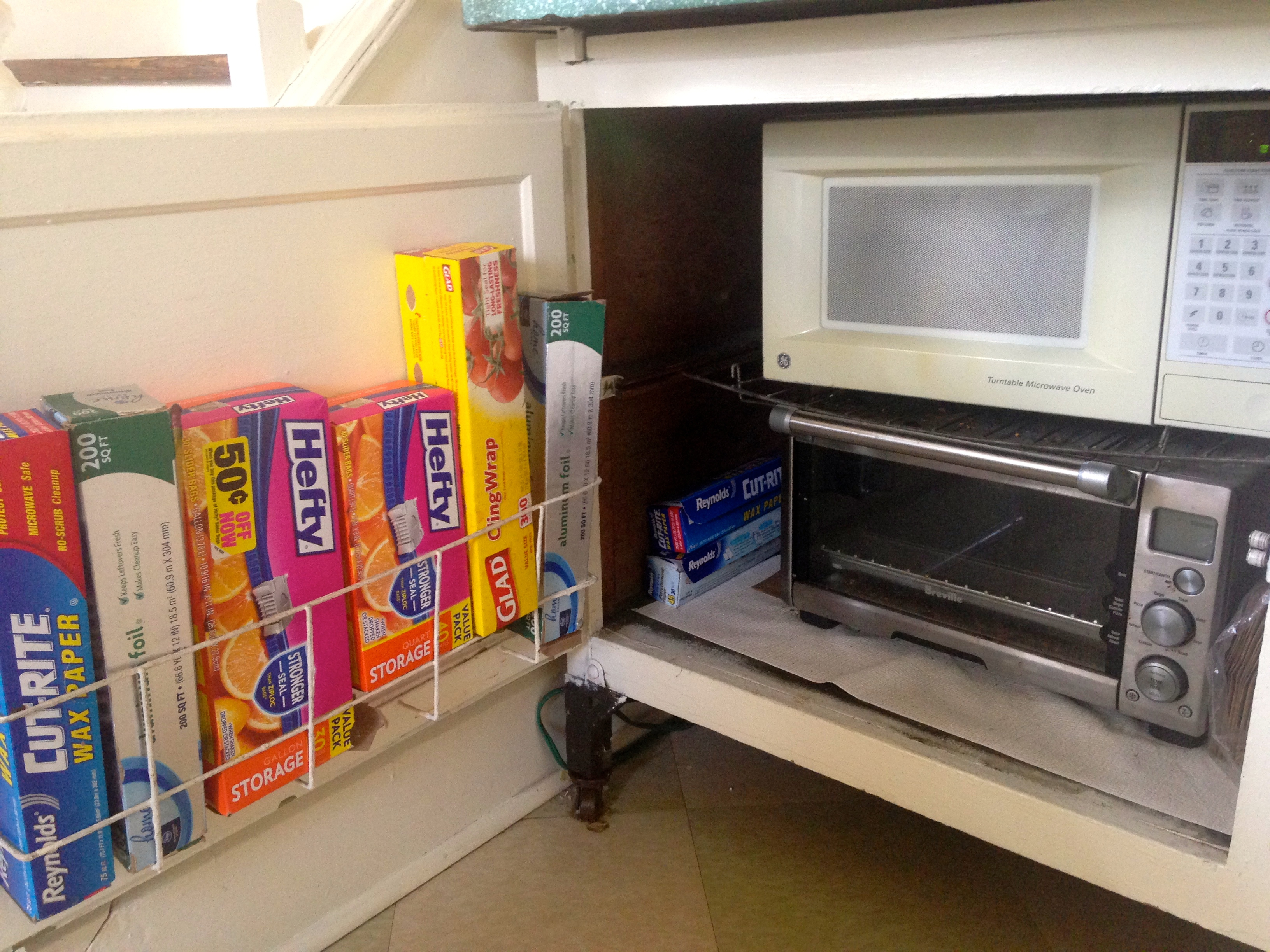 The Little Metal Shelf Also Pulls Out, Giving Me Extra Counter Space When  Iu0027m Doing Serious Cooking.